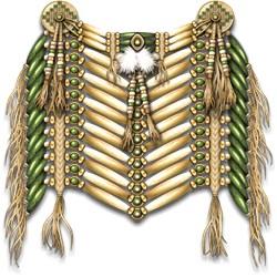 Native American Breastplate 5