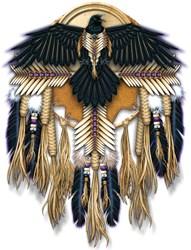 Native Crow Mandala