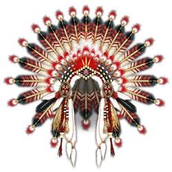 Native War Bonnet 03