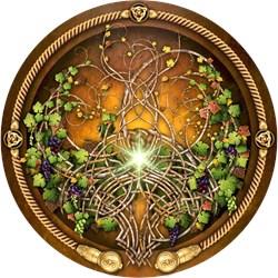 Sacred Celtic Trees - Vine