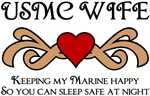 USMC Wife - Keeping My Marine Happy