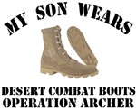 Operation Archer Son Desert Combat Boots
