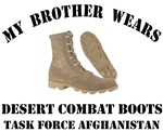 My Brother wears desert combat boots - TFA