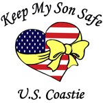 US Coast Guard Mom & Dad - Keep My Son Safe