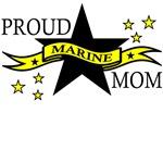 Proud Marine Mom with Hero Poem