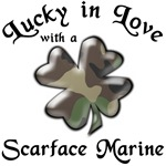 Lucky in Love with a Scarface Marine