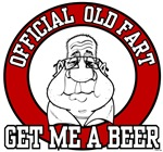 Official Old Fart - Get me a Beer