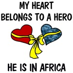 My Heart belongs to a Hero - Africa