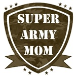 Super Army, Navy, Air Force or Marine Mom and Dad