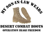 MY SON-IN-LAW WEARS DESERT COMBAT BOOTS