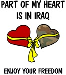 Part of my heart is in Iraq!