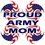 Patriotic Proud Army Mom