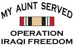 My Aunt served - OIF
