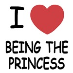 I heart being the princess