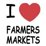 I heart farmers markets