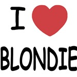 I heart blondie