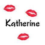 Katherine kisses