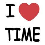 I heart time