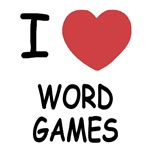 I heart word games