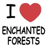 I heart enchanted forests