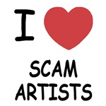 I heart scam artists