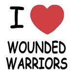 I heart wounded warriors