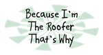 Because I'm The Roofer