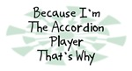 Because I'm The Accordion Player