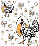 Retro Chicken Shirt