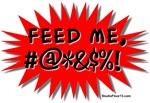'Feed Me!' (Red Pop Art)