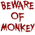 Beware of Monkey T-Shirt