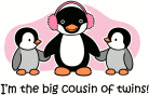 Big Cousin of twins - Penguin