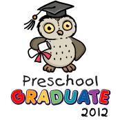 Preschool graduate 2012 - Owl