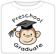 Monkey Preschool Graduate