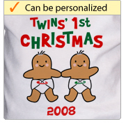 Twins' First Christmas - Gingerbread Baby