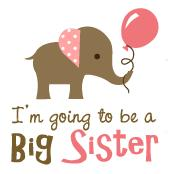 Big Sister to be - Mod Elephant