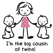 Big Cousin of Twins - Stick Characters