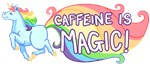 caffeinie is MAGIC unicorn
