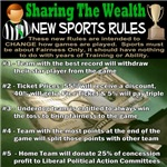 Share The Wealth-Sports Rules