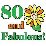 Fabulous 80th Birthday Gifts