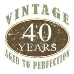 Vintage 40th Birthday