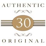 30th Birthday Authentic