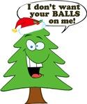 Funny Merry Christmas tree