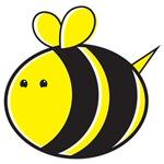Kawaii bumble bee cute