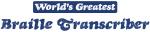 Worlds greatest Braille Transcriber