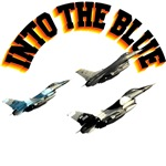 F16s Into The Blue