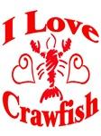 I Love Crawfish