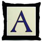 Letter Tile Pillows