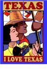 I Love Texas Tile Mural