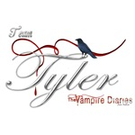 Team Tyler The Vampire Diaries Raven Ribbon2